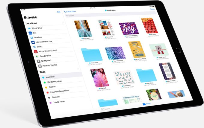 iOS 11 gains a file browser    loses 32-bit app support - Liliputing