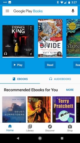How Google Play audiobooks work - Liliputing