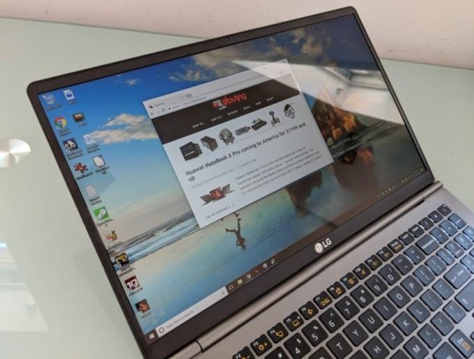LG gram (2018) review: A 2 4 pound, 15 6 inch laptop