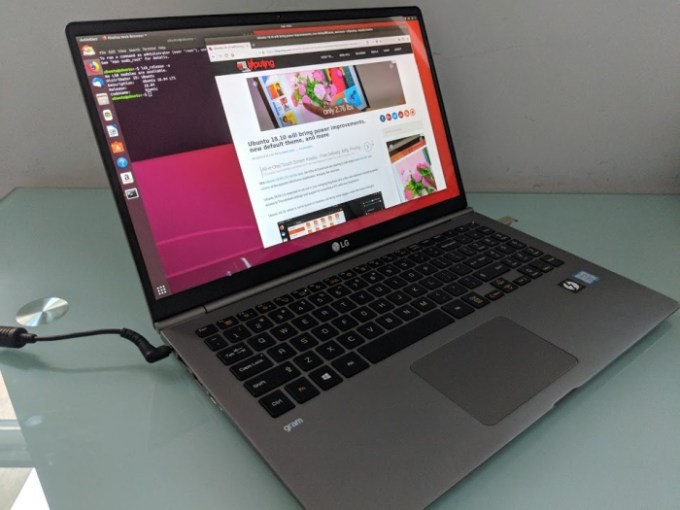 LG gram (2018) review: A 2 4 pound, 15 6 inch laptop - Liliputing