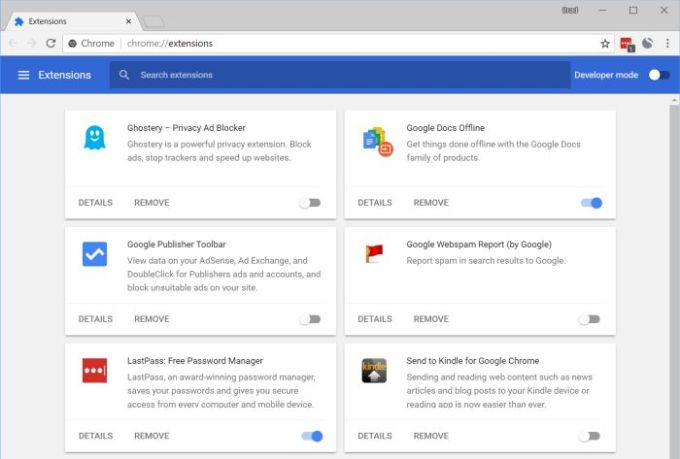 Soon you'll only be able to install Google Chrome extensions