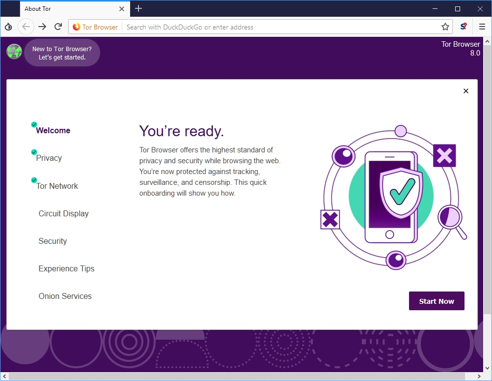 проблема с tor browser gidra