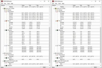Start and end of 1080p encoding job
