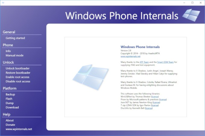 WPInternals goes open source (Windows Phone hacking tool