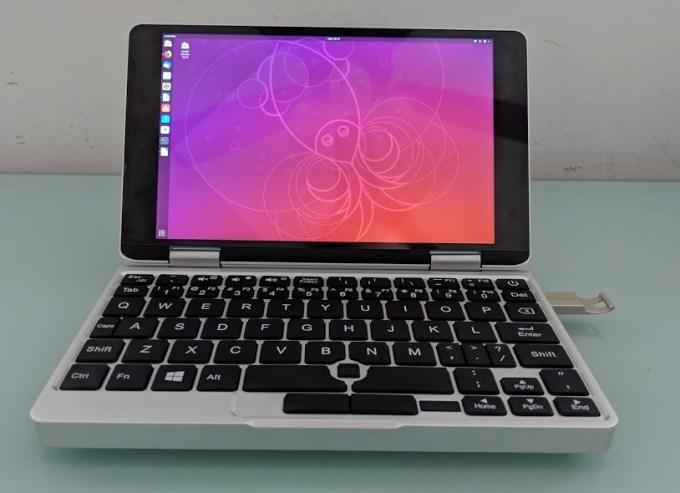 Running Ubuntu 18 04 on the One Mix 2S Yoga mini laptop
