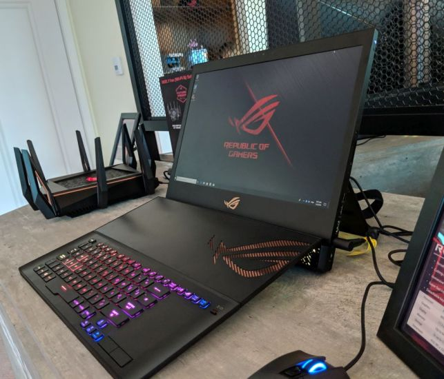 Asus ROG Mothership is a massive gaming tablet with a detachable