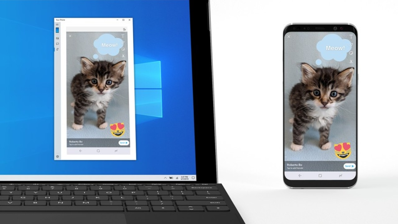 Microsoft's Phone Screen mirrors your Android phone on a