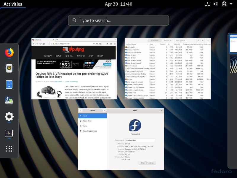 Fedora 30 released with flicker-free boot, better high-res ...