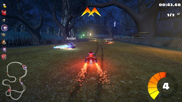 SuperTuxKart 1.0 released, brings online play support
