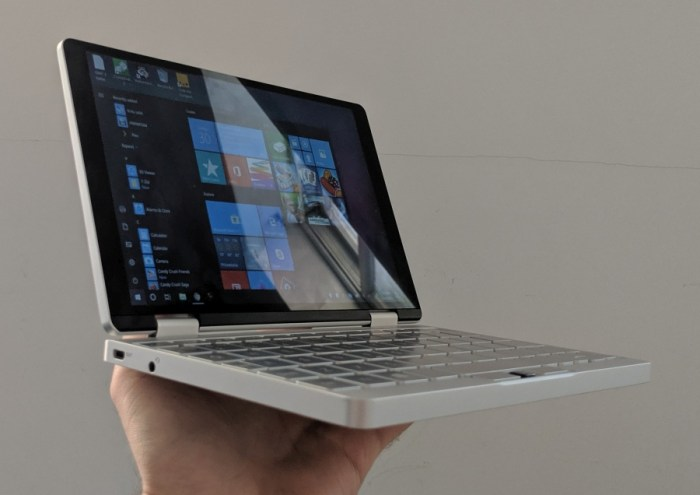One Mix 3 Yoga 8 4 inch mini laptop review - Liliputing