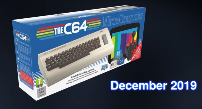 TheC64 is coming in December 2019 (A full-sized Commodore 64