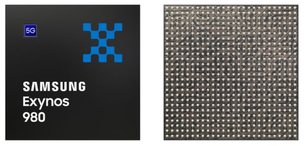 Samsung Exynos 980 chip has 5G support baked in - Liliputing