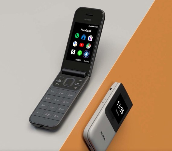 HMD's latest feature phones include a Nokia 2720 revival
