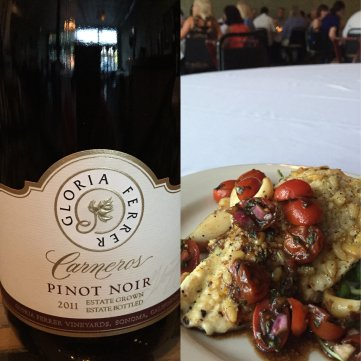 4. Pinot Noir with Idaho Trout