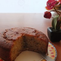 Healthy lime, orange blossom and pistachio cake recipe