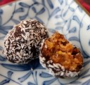 Apricot and almond bliss balls