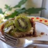 Healthier buckwheat pastry kiwi tarts
