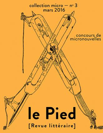 Revue Le Pied no 3 concours de micronouvelles
