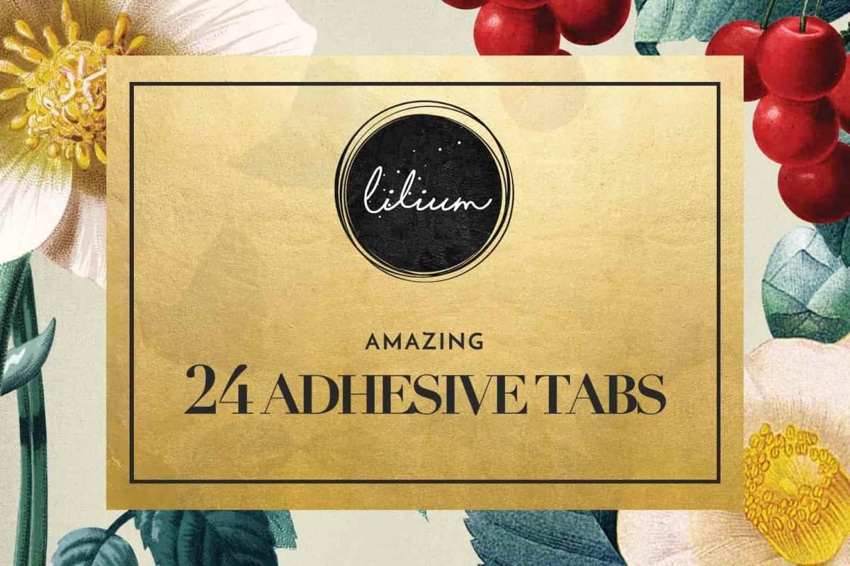 24 Adhesive Tabs for Press on Nails, Nail Glue Alternative, Nail Adhesive, Fake Nails, Nail Stickers, Stick on Nails