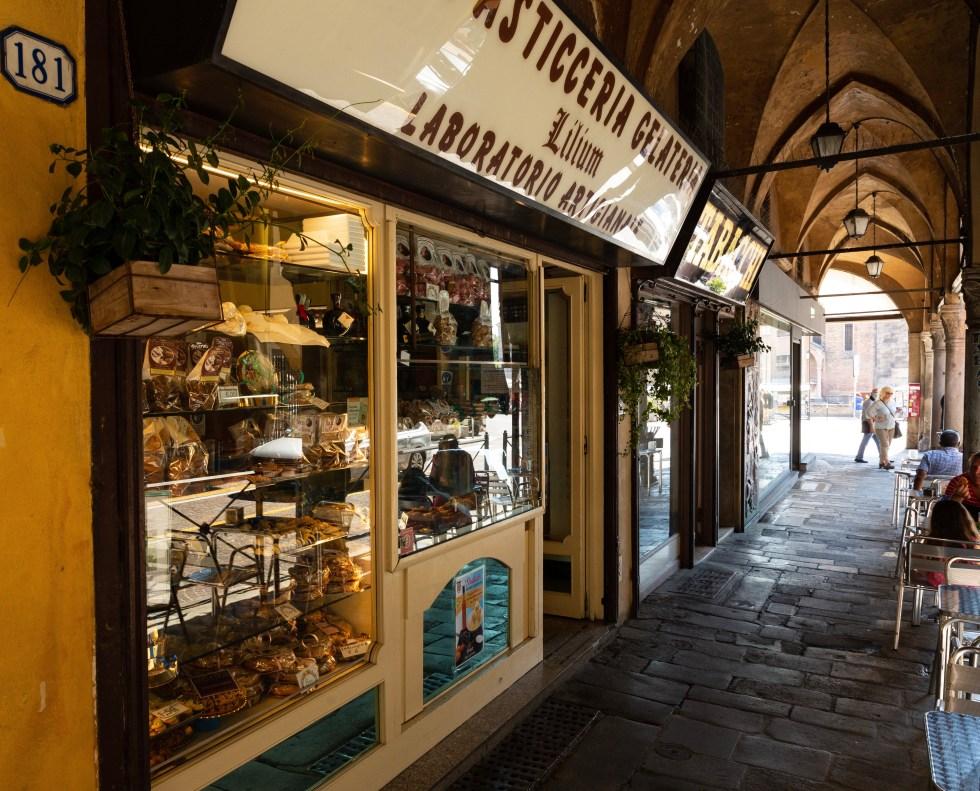 Lilium al Santo la storica pasticceria Padova situata in centro ma