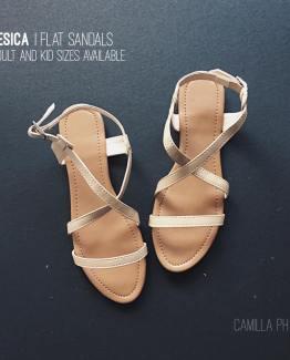 Flat Sandals Jesica Beige
