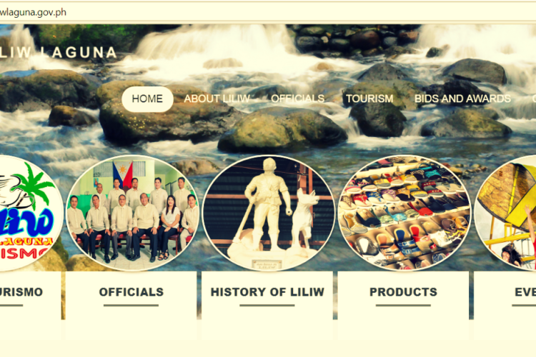 Liliw Laguna Official Website_