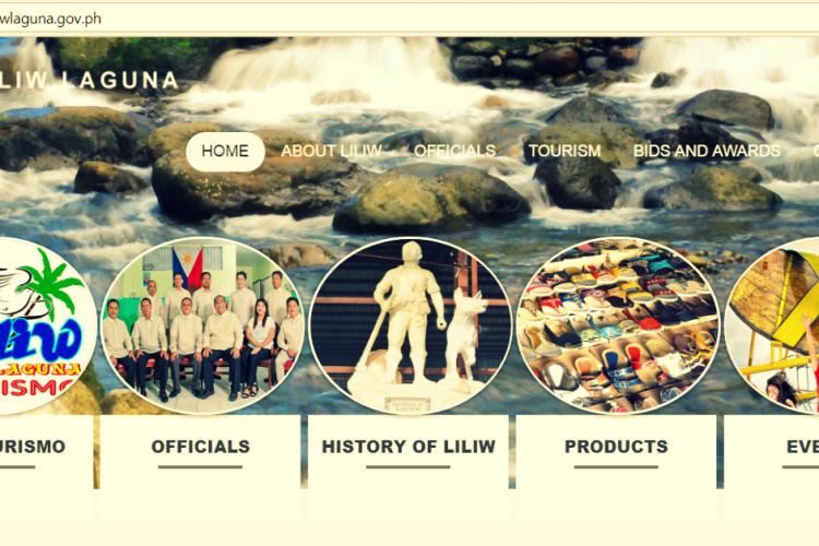 Liliw Laguna Official Website_