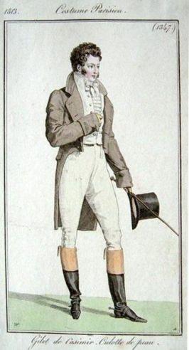 Costume de Parisien 1813