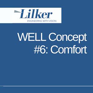WELL Concept #6: Comfort