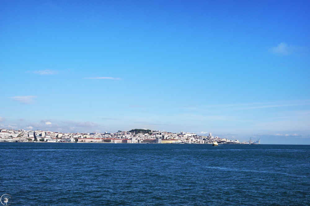 View of Lisbon from Almada