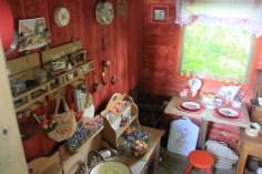 Le jardin des lianes - cabane interieur
