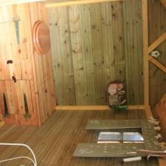 Le jardin de la goutte d'eau - toilettes seches interieur
