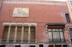 loge maçonnique - façade