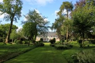 Maizicourt - château côté jardin