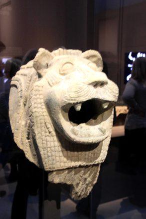 mesopotamie - tete lion