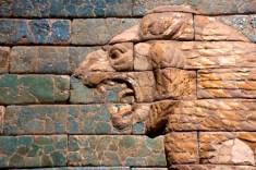 mesopotamie - lion detail