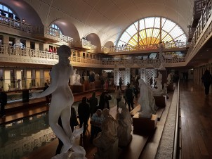 Roubaix - musée la Piscine - galerie statues