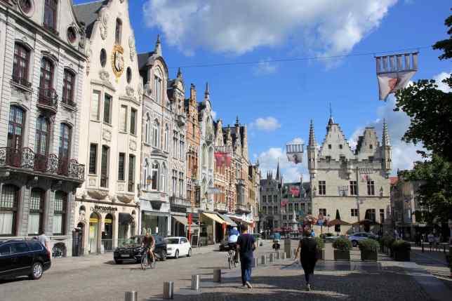 Mechelen - façades