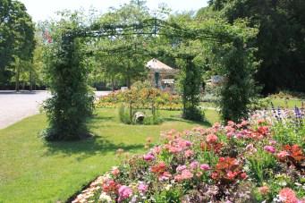 Saint-Omer - Jardin fleuri