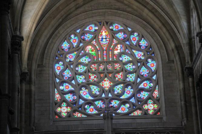 Saint-Omer cathédrale vitraux