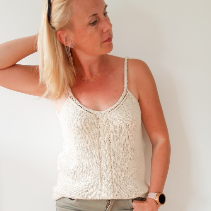 Get the Summer vibes on with the Cassis Top