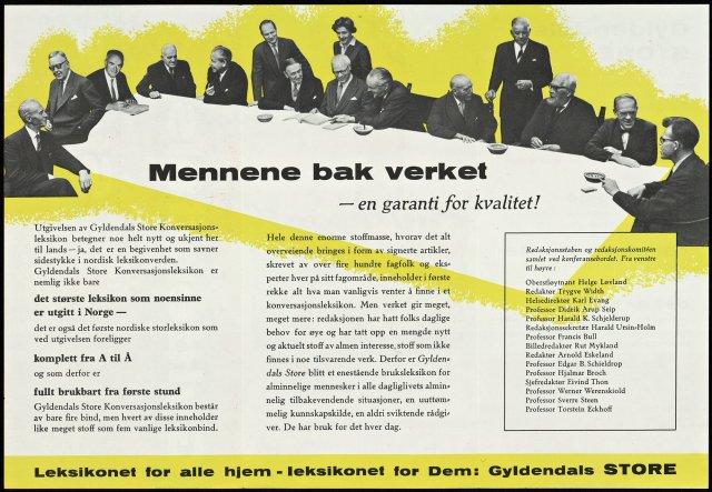 Reklame for Gyldendal