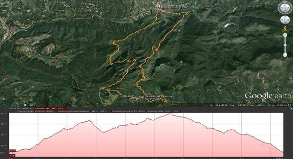 Mapa Trail Vall de Lillet 1297 (2015) 2