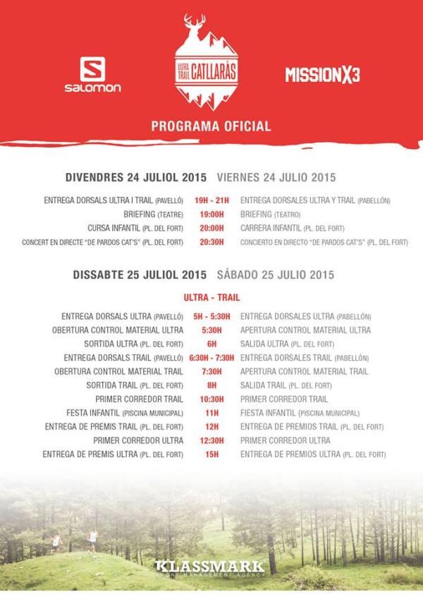 20150724 PROGRAMA OFICIAL - ULTRA TRAIL CATLLARAS 2015