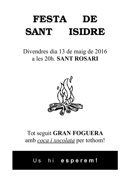 20160513 Festa de Sant Isidre 2016