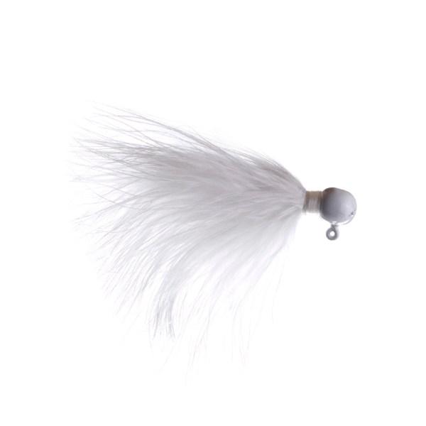 marabou jig 1/16oz white