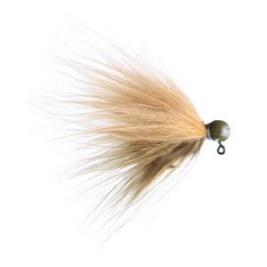 Lilley's Scuplin/ginger, Sculpin Head Marabou Jig