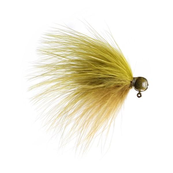 marabou jig 3_32 Tri-Olive