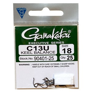 Gamakatsu C13U – 25ct.