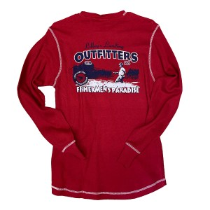 Long Sleeve Thermal – Red